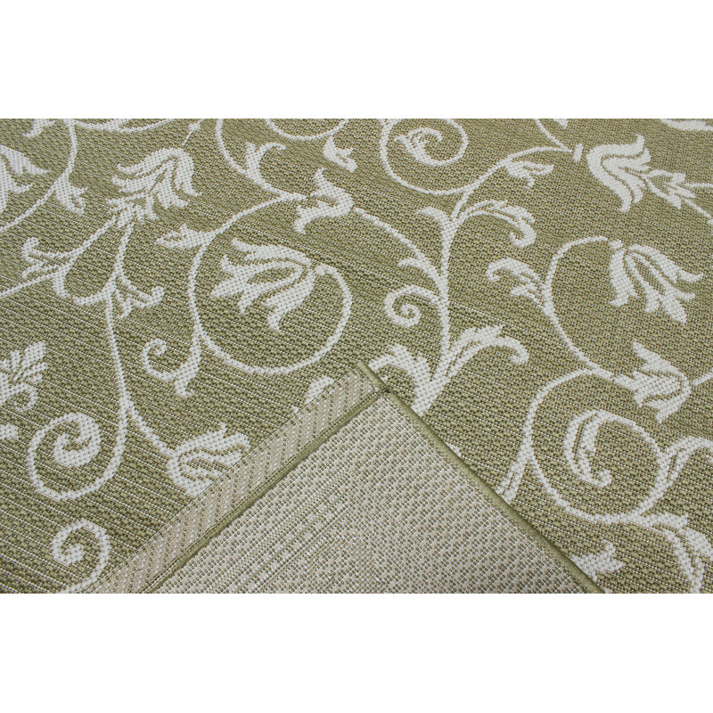 COTTAGE 2098 olive green/wool/8R06