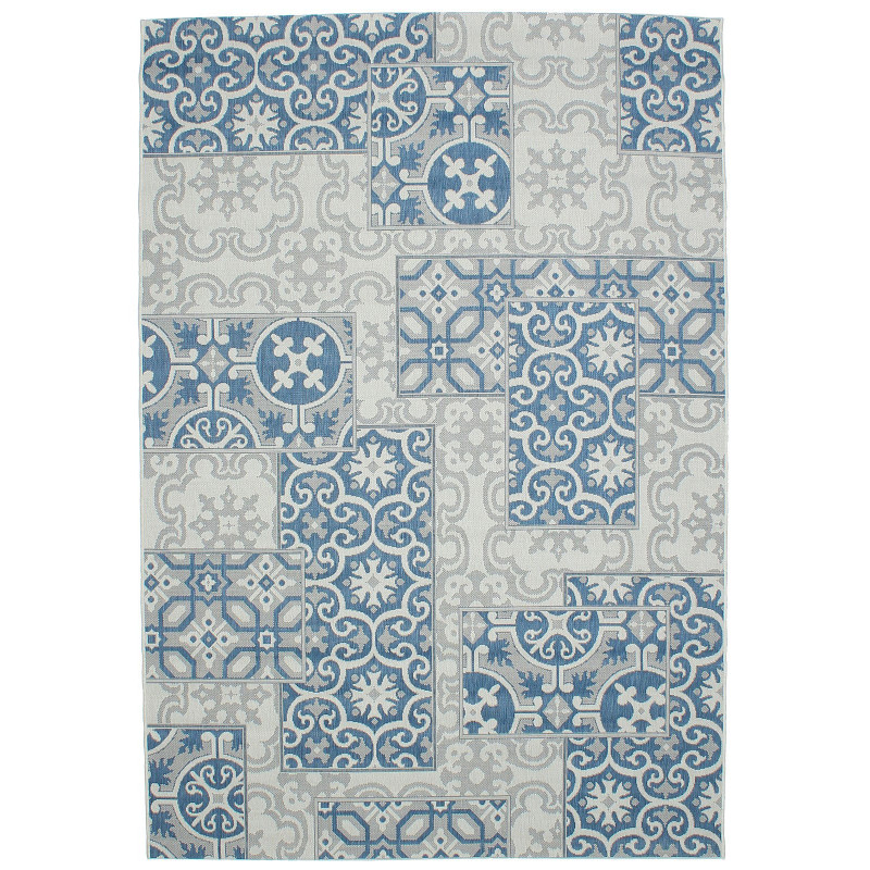 COTTAGE 5474 wool/blue/9A01