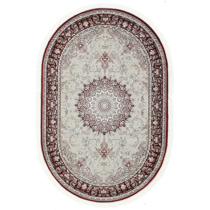 TURKISTAN 7608A CREAM/D.RED
