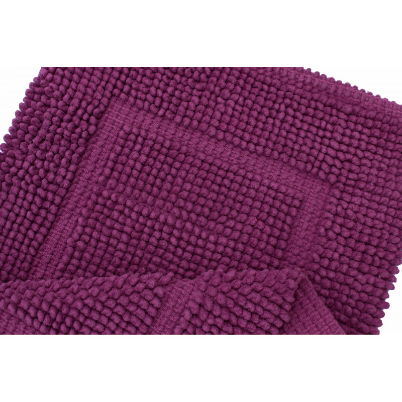 16514 WOVEN RUG LILAC/LILAC