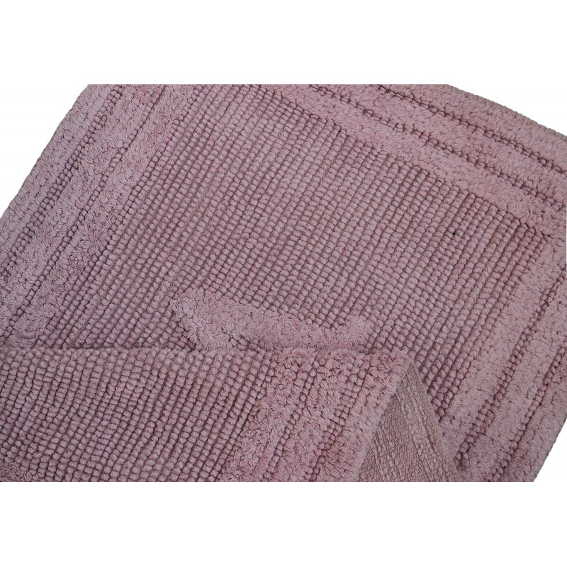 80052 WOVEN RUG PINK