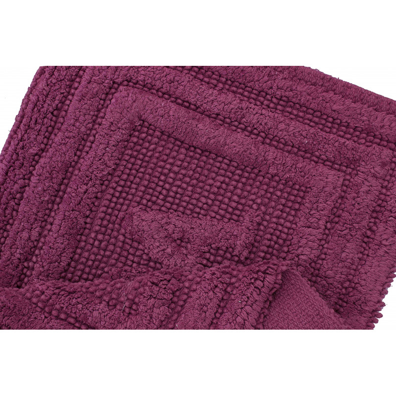 80052 WOVEN RUG LILAC/LILAC