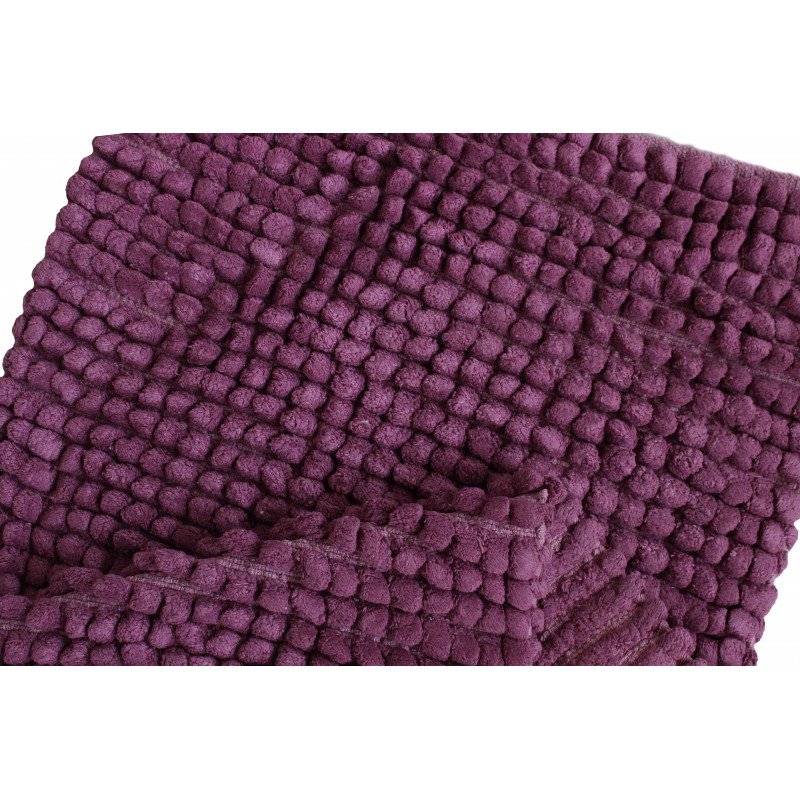 80083 WOVEN RUG LILAC/LILAC