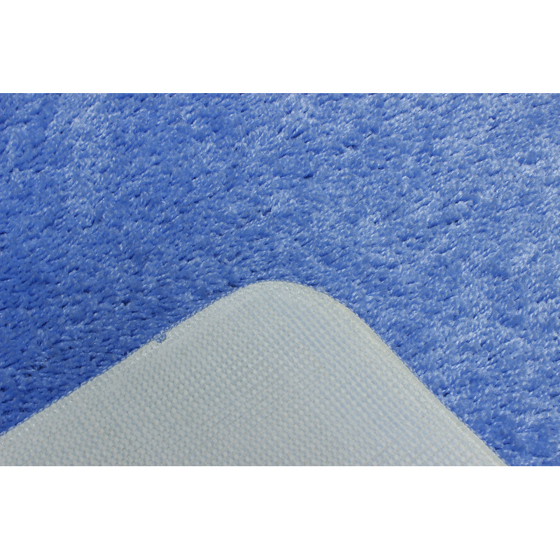 SOFT 60X100 1PC PLAIN BLUE (5004)