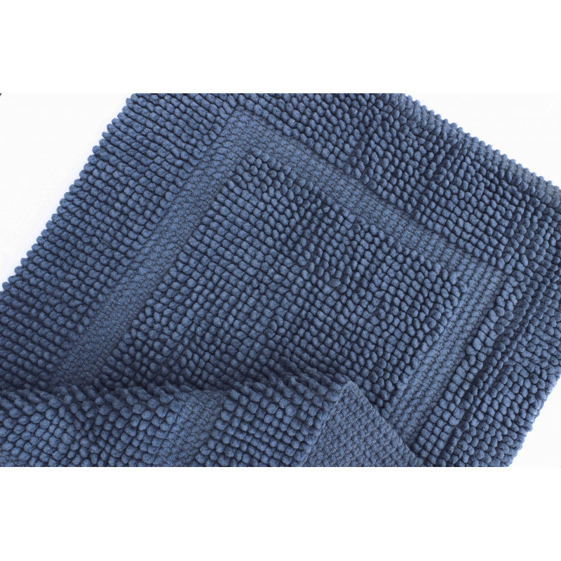 16514 WOVEN RUG BLUE/BLUE